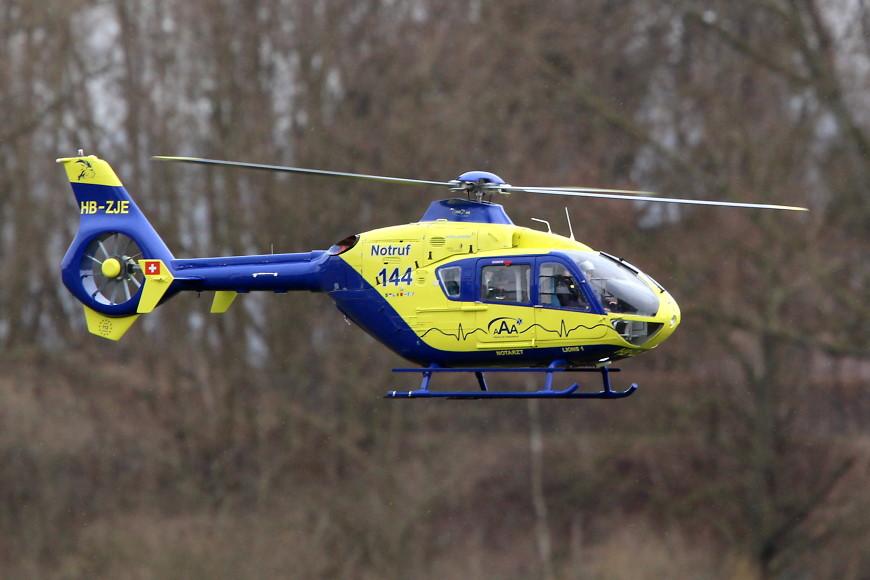 ROTOR live 2018 Iffezheim: Eurocopter EC-135